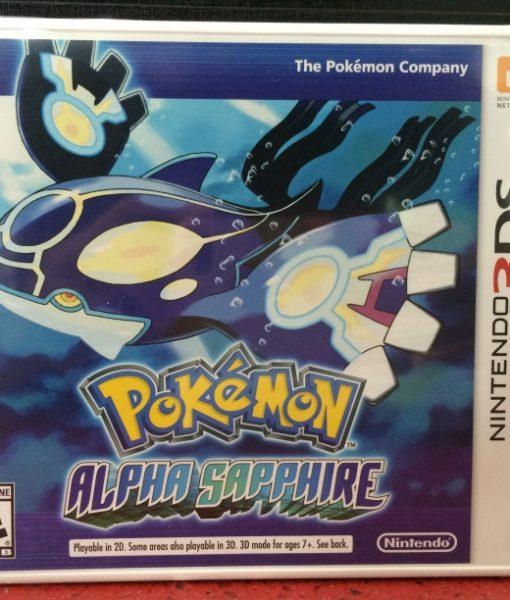 3DS Pokemon Alpha Sapphire game