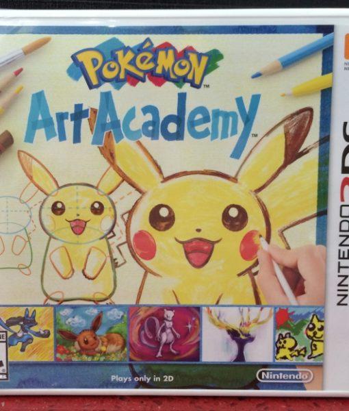 3DS Pokemon Art Academy game