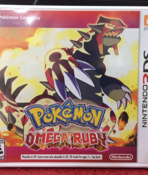 3DS Pokemon Omega Ruby game