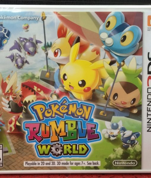 3DS Pokemon Rumble World game