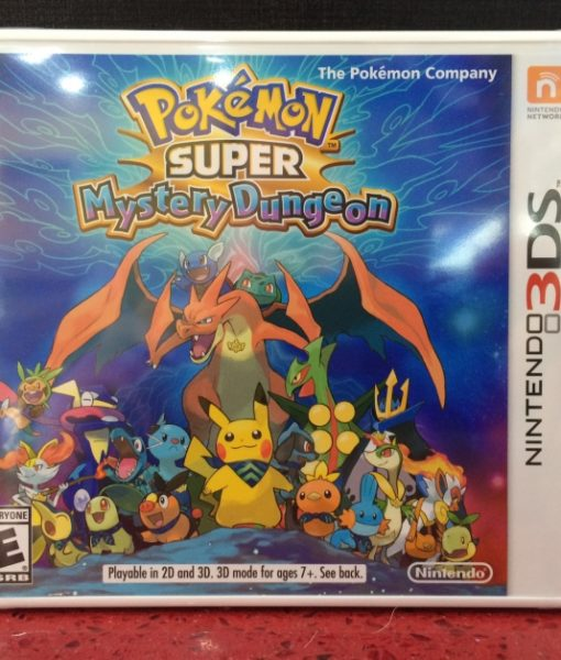 3DS Pokemon SUPER Mystery Dungeon game