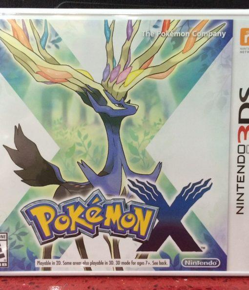 3DS Pokemon X game