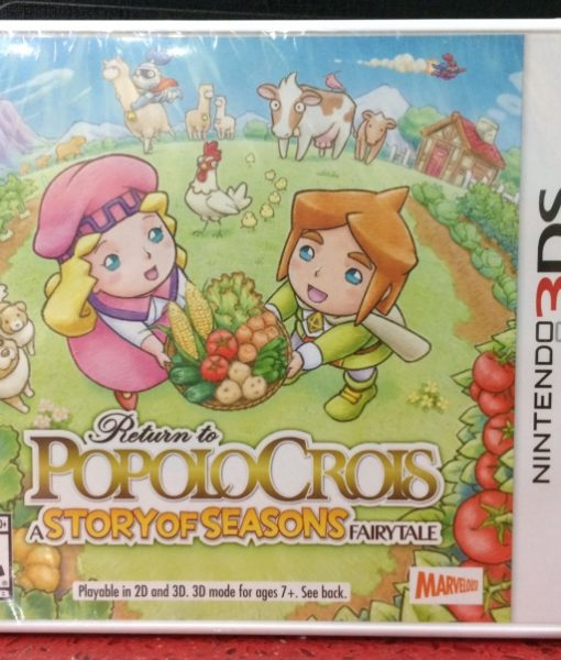 3DS Popolocrois Story of Seasons game