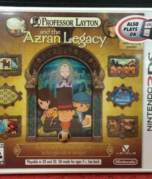 3DS Professor Layton Azran Legacy game