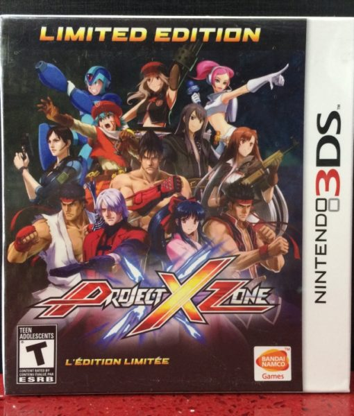3DS Project X Zone game