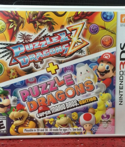 3DS Puzzle and Dragons Super Mario Edition game
