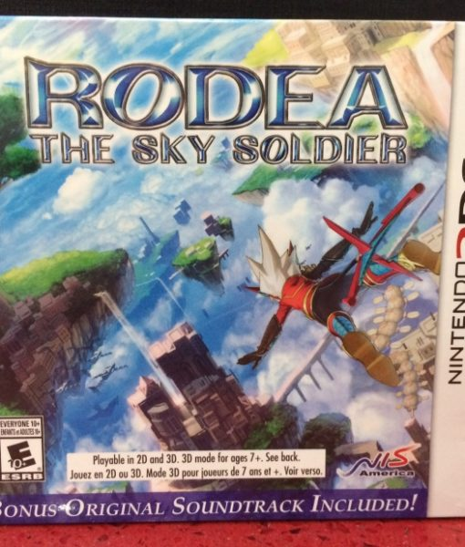 3DS RODEA The Sky Soldier game