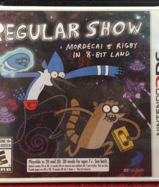 3DS Regular Show game