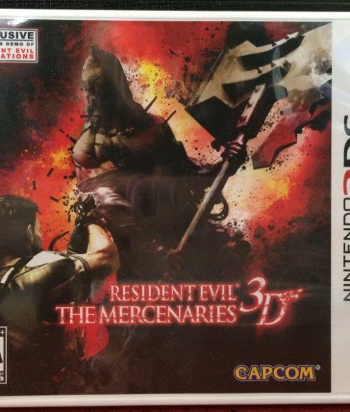 3DS Resident Evil Mercenaries 3D game