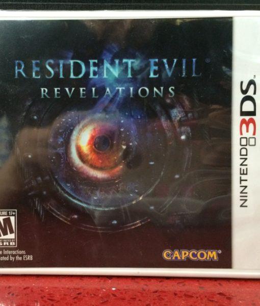 3DS Resident Evil Revelations game