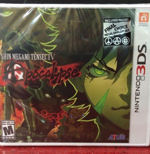 3DS Shin Megami Tensei IV Apocalypse Persona game