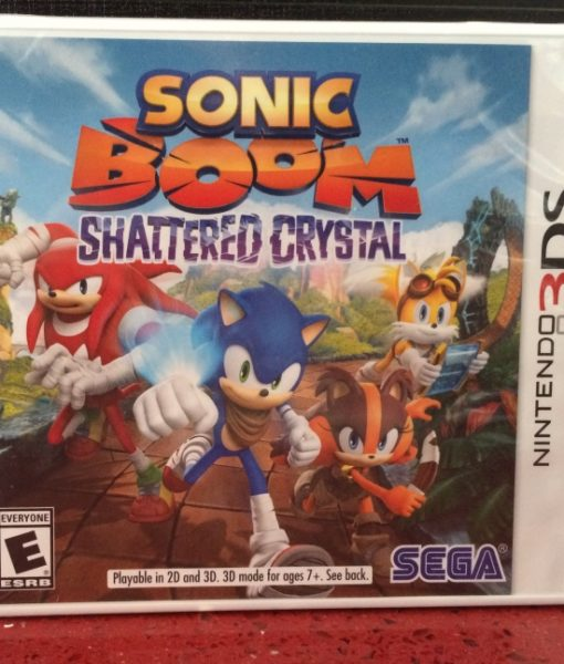 3DS Sonic Boom Shattered Crystal game