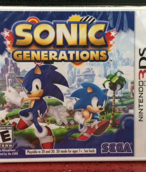3DS Sonic Generations game