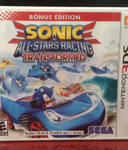 3DS Sonic Stars Racing Transformed game