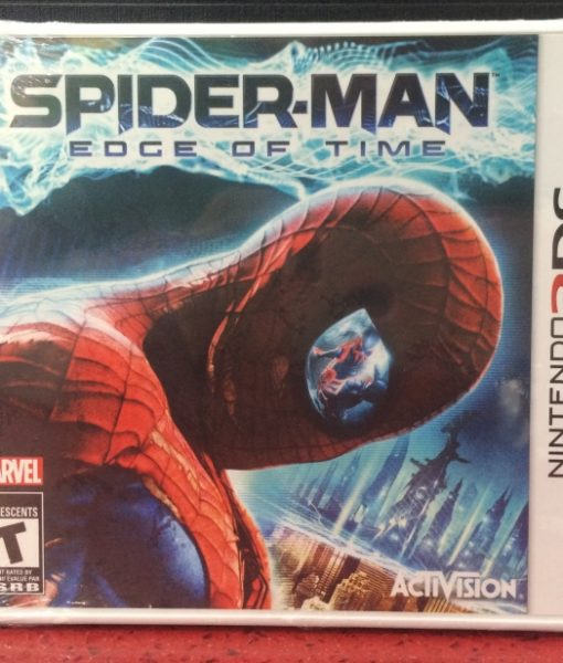 3DS Spiderman Edge of Time game