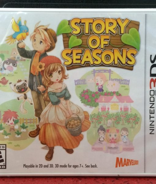 3DS Story of Seasons game