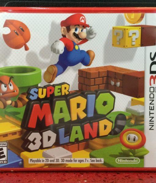 3DS Super Mario 3D Land game