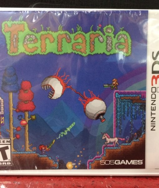 3DS Terraria game