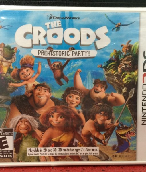 3DS The Croods game