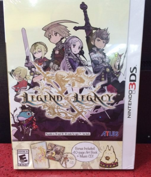 3DS The Legend of Legacy game