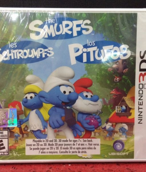 3DS The Smurfs Adventure game