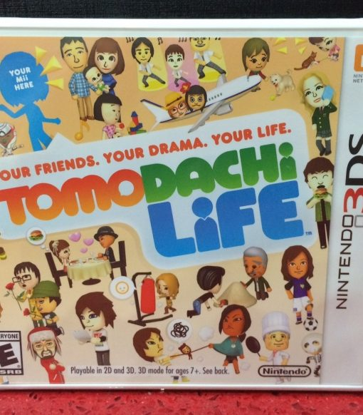 3DS Tomodachi Life game