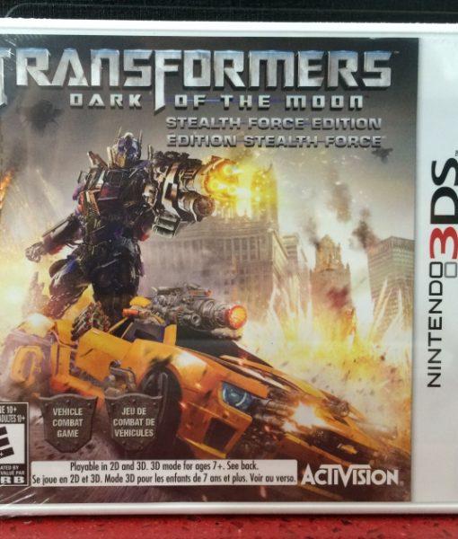 3DS Transformers Dark Moon game