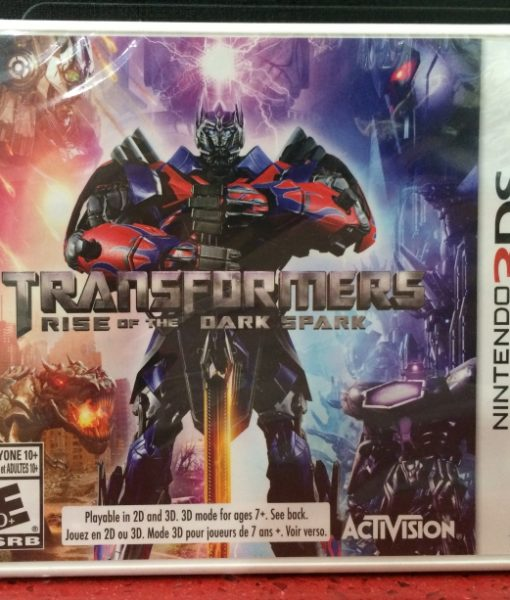 3DS Transformers Rise Dark Spark game