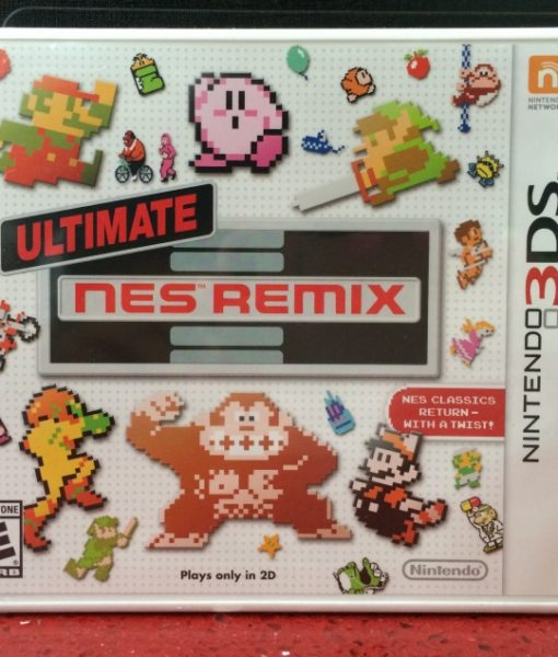 3DS Ultimate NES Remix game