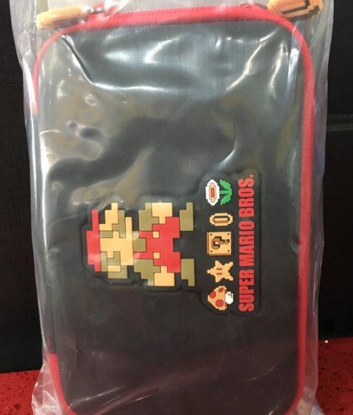 3DS XL item Pouch Retro Mario Negro Hori