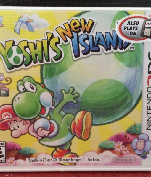 3DS Yoshis New Island game
