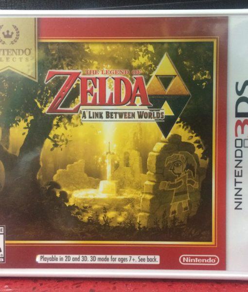 3DS Zelda Link Between Worlds game