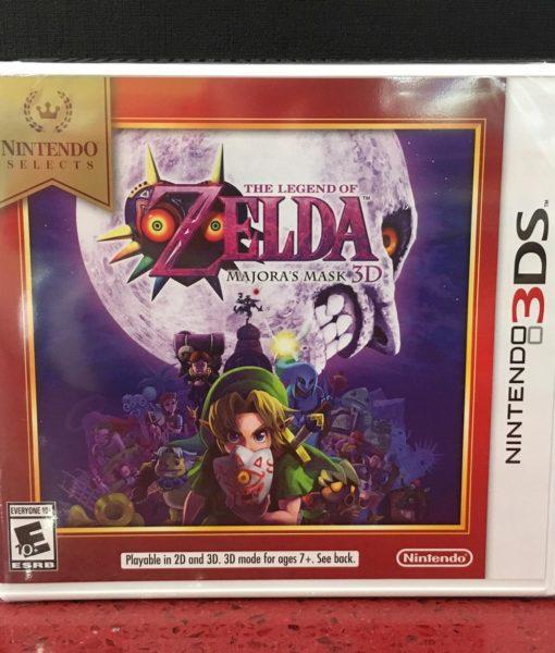 3DS Zelda Majoras Mask 3D Select Nin game