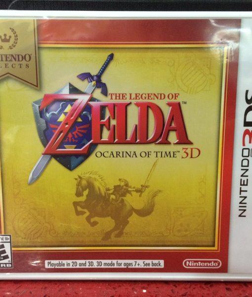3DS Zelda Ocarina of Time game