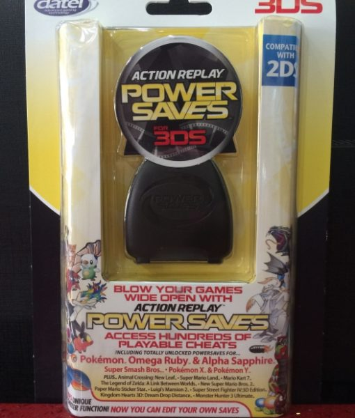 3DS 2DS Action Replay Power Saves datel
