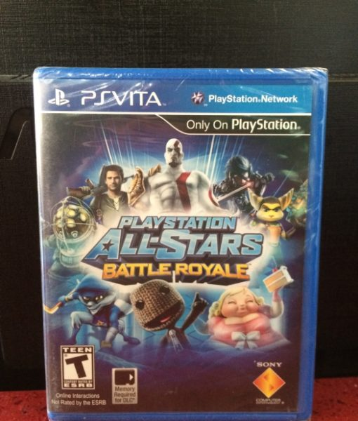 PS Vita All-Star Battle Royale game