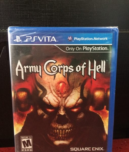 PS Vita Army Corps of Hell game