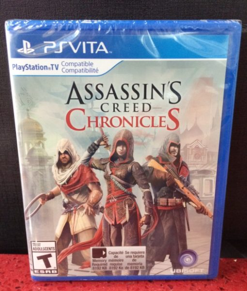 PS Vita Assassins Creed Chronicles game