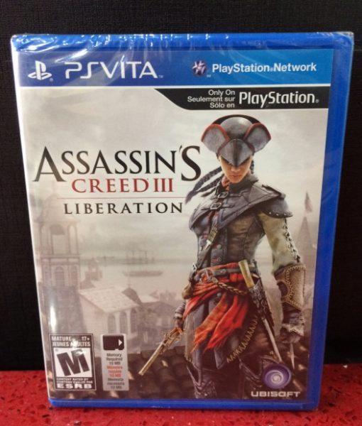 PS Vita Assassins Creed III Liberation game