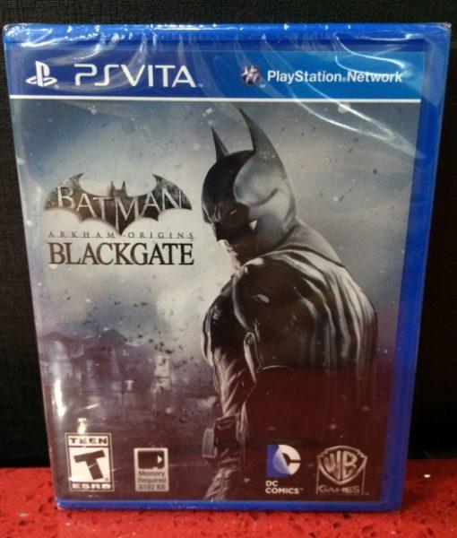 PS Vita Batman Arkham Origins Black Gate game