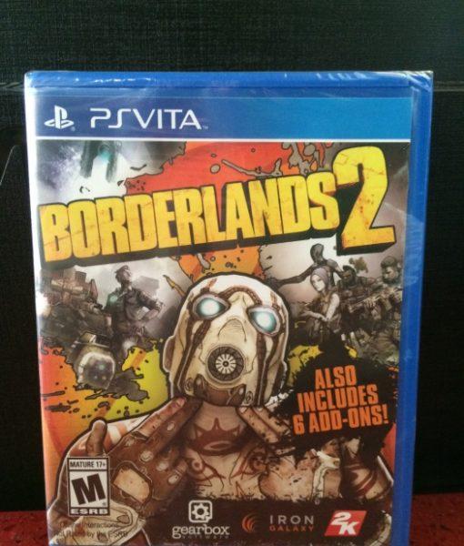 PS Vita BorderLands 2 game
