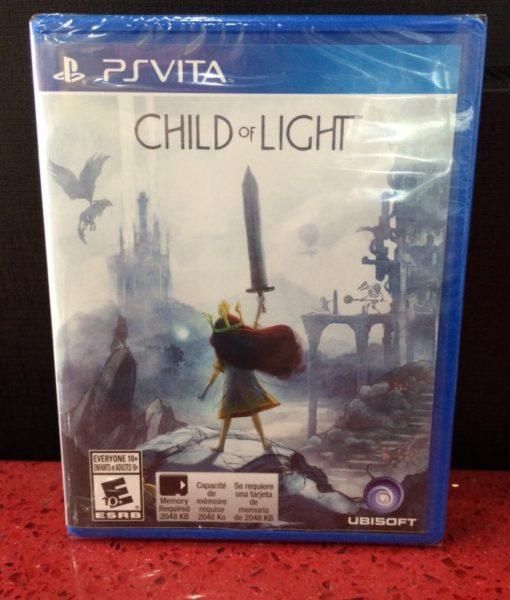 PS Vita Child of Light game