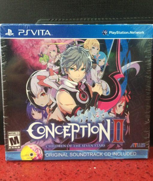 PS Vita Conception II game