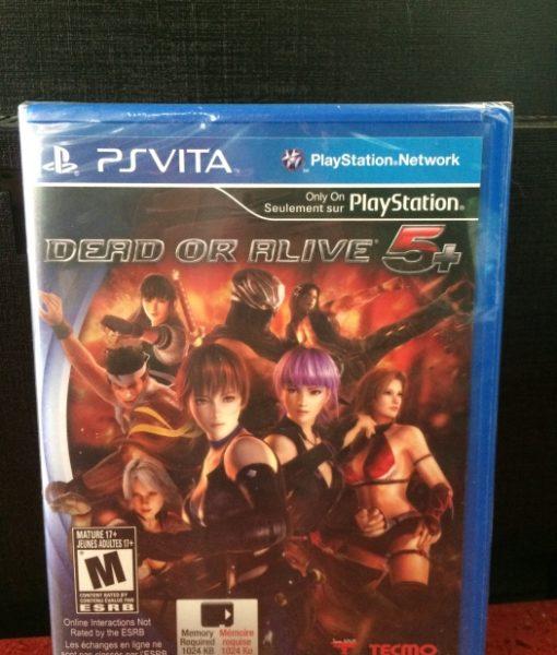 PS Vita Dead or Alive 5 Plus game