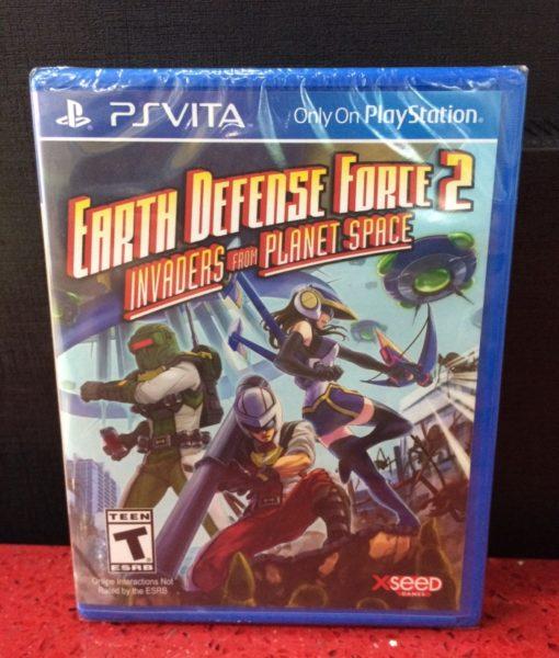 PS Vita Earth Defense Force 2 game
