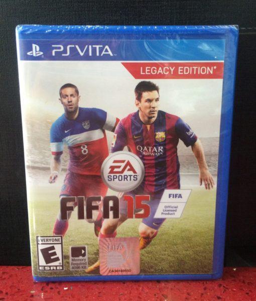 PS Vita FIFA 15 game