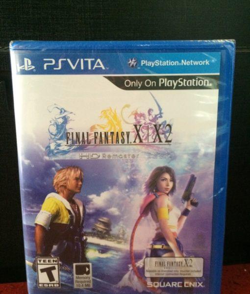 PS Vita Final Fantasy X – X2 HD Remaster game