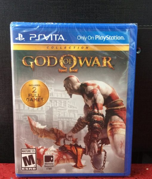 PS Vita God of War Collection game