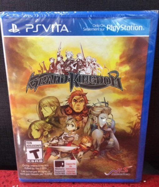 PS Vita Grand Kingdom game