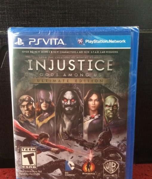 PS Vita Injustice Ultimate Edition game